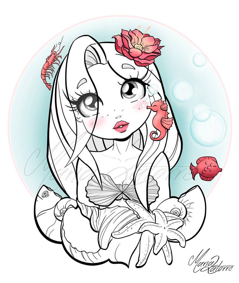 Little mermaid_Maria_Latorre