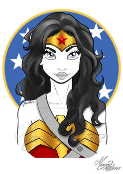 Wonder Woman Maria Latorre
