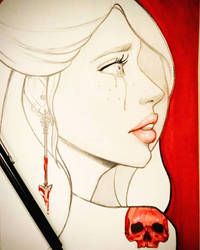 Bloody and Skull maria latorre