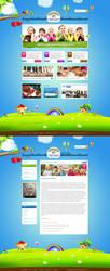 Tecza web design for charity organization by SycylianBeef
