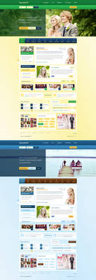 Organizuj Wesele - wedding portal web design