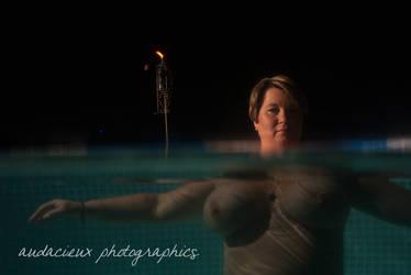 Night Pool 1 by AudacieuxPhoto