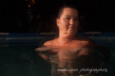 Night Pool 4 by AudacieuxPhoto