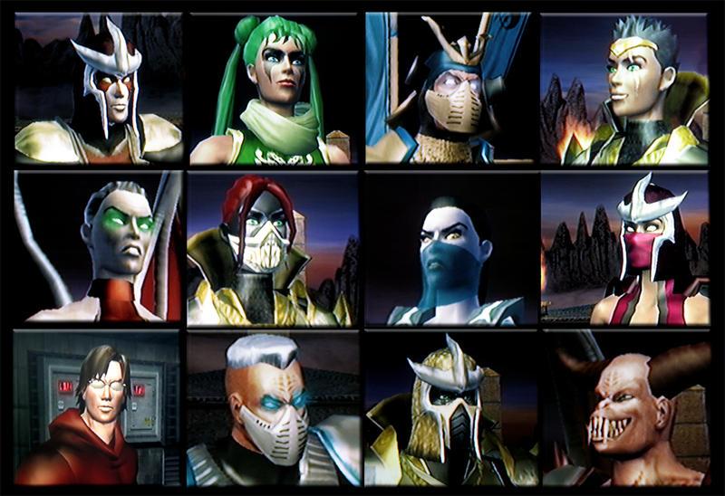 12 Mortal Kombat Characters by LifeOfFantasy on DeviantArt