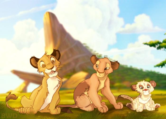 Simba! Arr... #2 by Buck-wolfdog