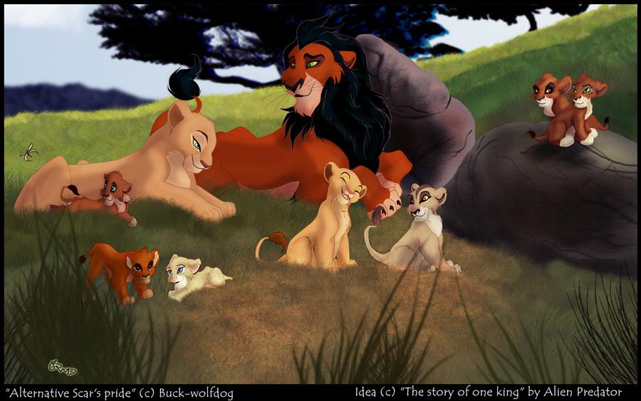 P.O The Lion King Scar__s_alternative_pride_by_buck_wolfdog-d5ld344