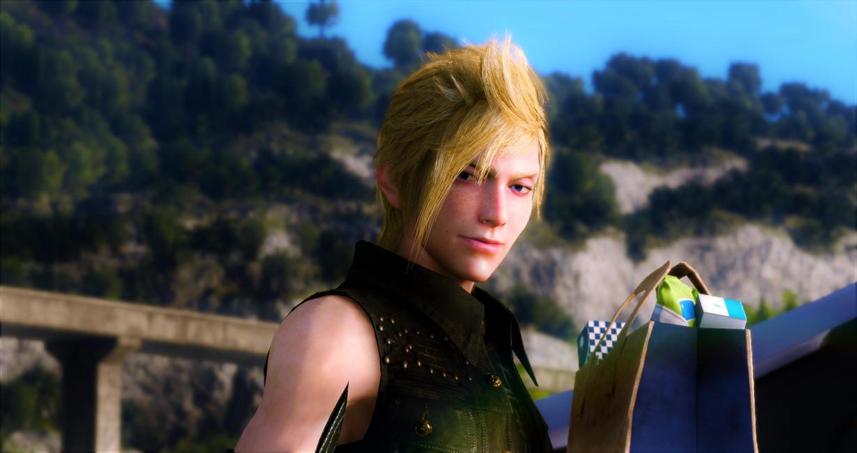 Final Fantasy XV - Prompto Argentum by SNColors