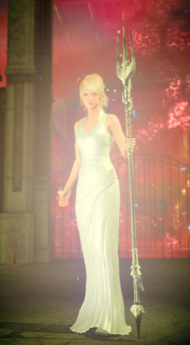 Final Fantasy XV lunafreya nox fleuret by SNColors
