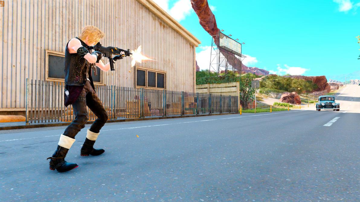 Final Fantasy XV Prompto Argentum by SNColors