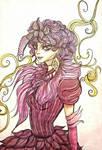 Effie Trinket  by Elisabethianna