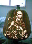 Pumpkin De Los Muertos