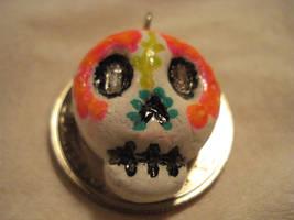 Sugar Skull Charm 1 by Cakeonmyface