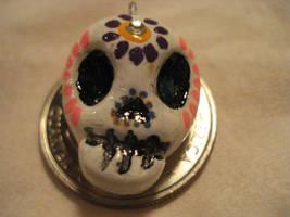 Sugart Skull Charm 2 by Cakeonmyface