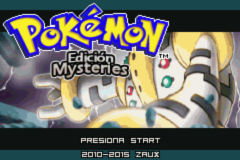 Pokemon Mysteries - Title Screen