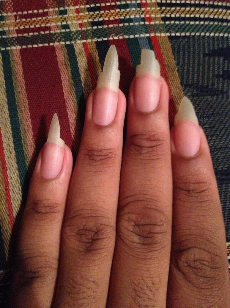 My Sharp Nails By Jjj6