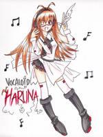 Vocaloid Haruna by mosspluse