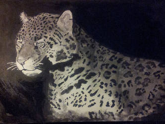 Jaguar Painting by zoiewolf