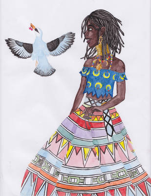 Ndebele girl - SilenceInTheSoul arttrade by YoungOldCatCreeper