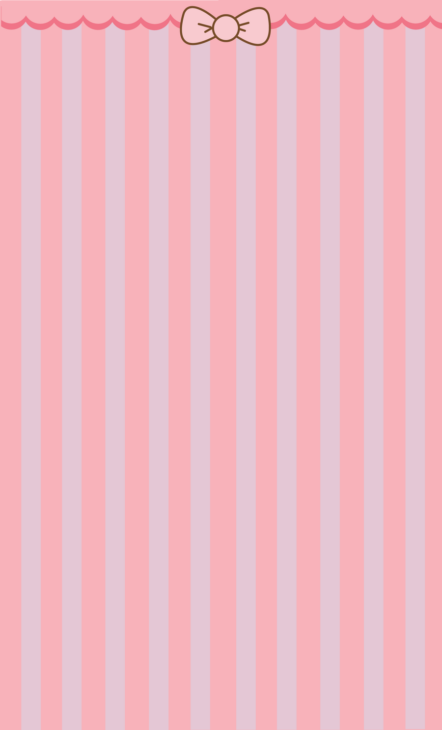 Pink Bow Background by ArtsyAndreaM