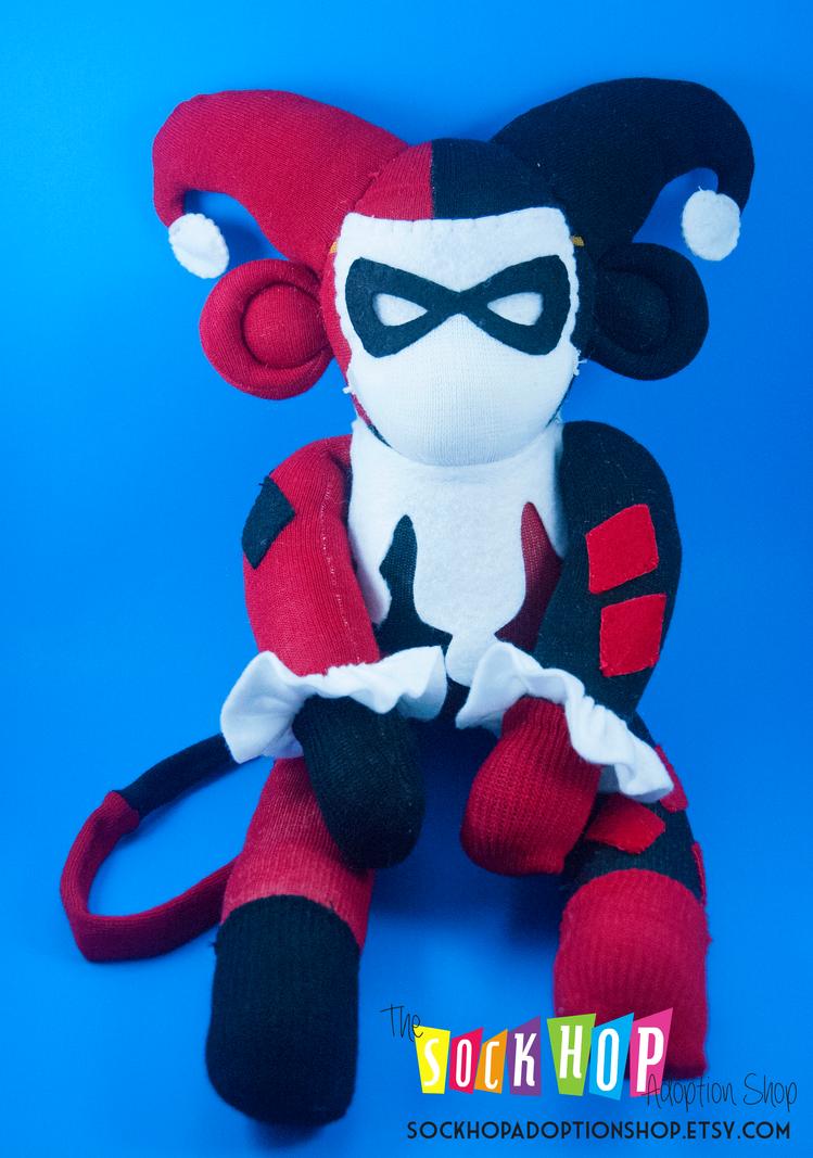 Harley Quinn the Sock Monkey by ArtsyAndreaM
