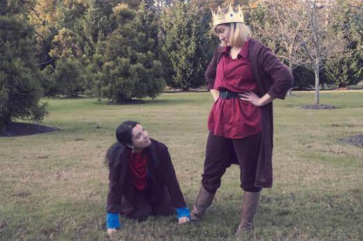 Arthur and Merlin Cosplay
