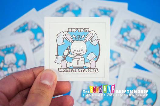 Plot Bunny Stickers