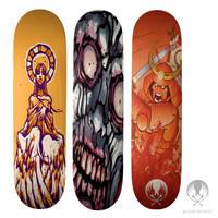 Skate decks by JasonGoad