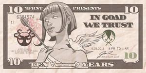 In Goad We Trust flyer