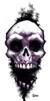 Skull brushwork