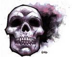 Skull brushwork 2