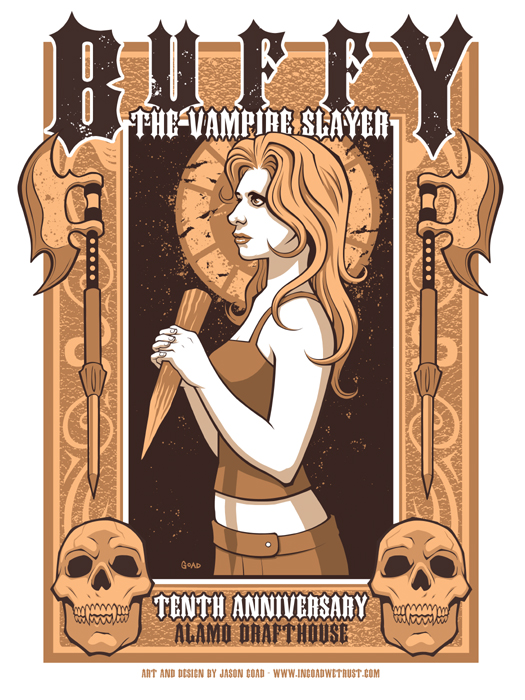 Buffy the Vampire Slayer Poste by JasonGoad