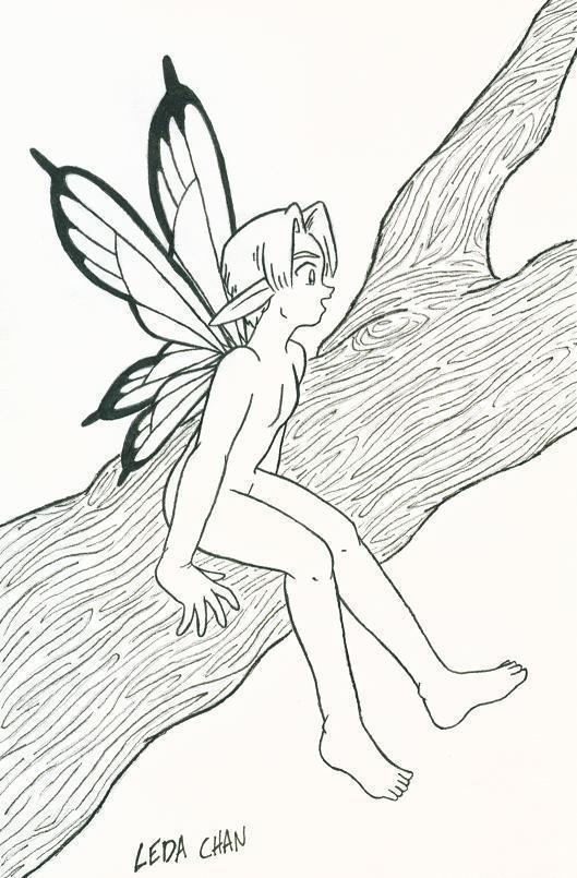 Fairy Boy by leedzie