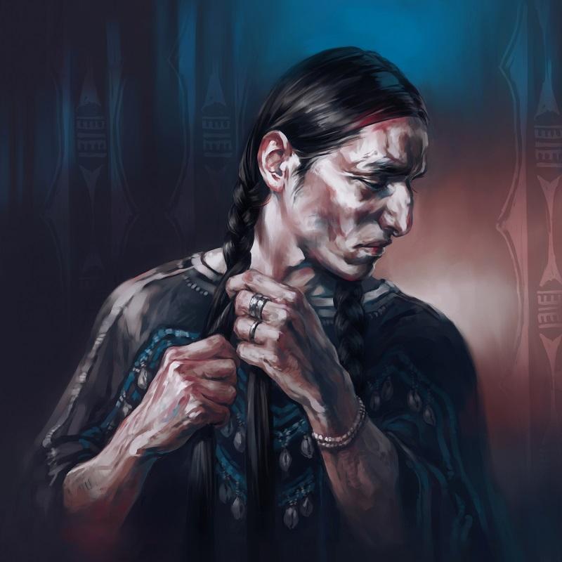 Native American - Berdash by Alex-J-Crow