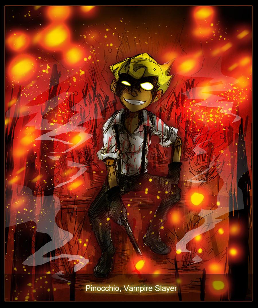 Pinocchio Vampire Slayer Anime Vampire Slayer