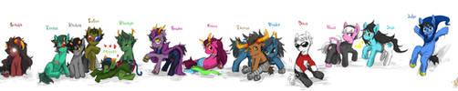 Homestuck pony by ninevsnine