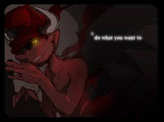 Devil's Whisper by ninevsnine