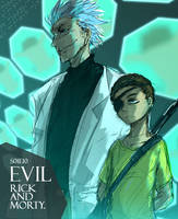Evil  Rick and Morty by ninevsnine