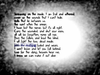 Breaking Benjamin on Lyrics-quotes-etc - DeviantArt