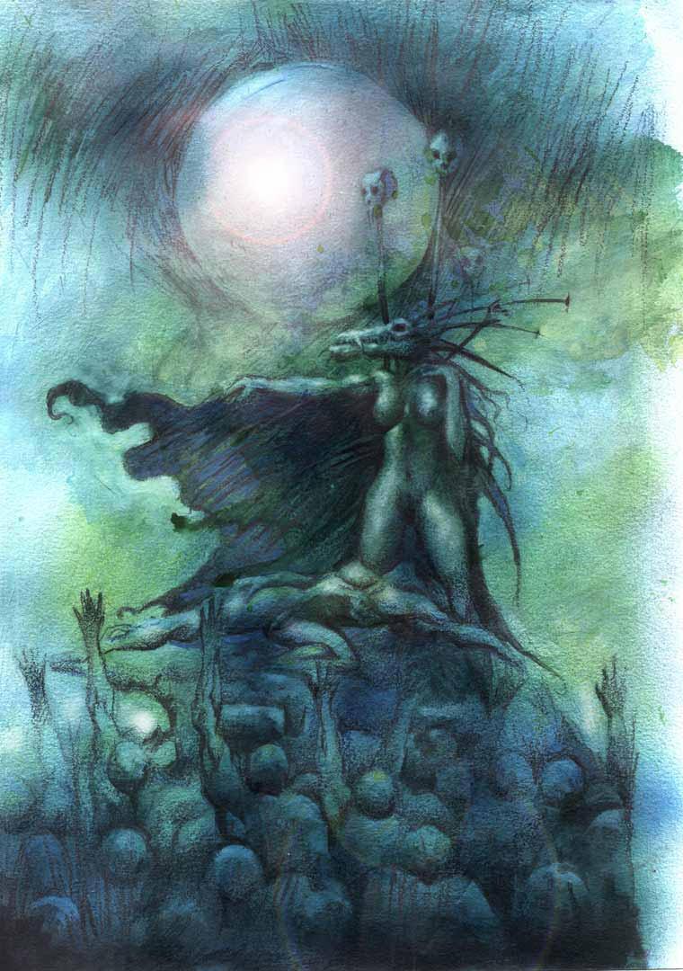 Lovecraft 2 by juanvasquez
