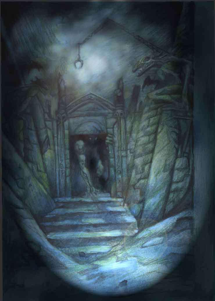 Lovecraft 5 by juanvasquez