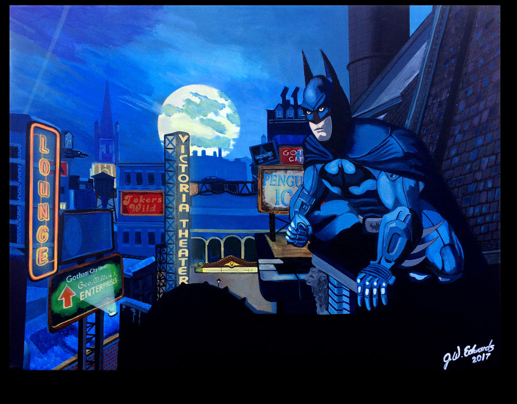 Gotham City by jwedwards