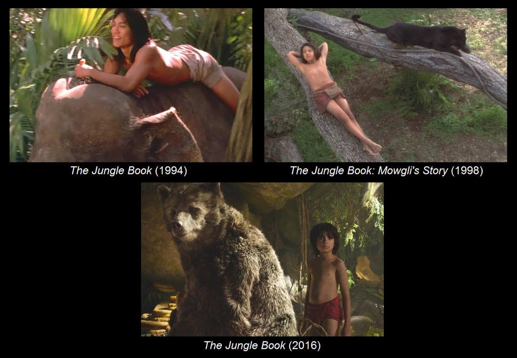 All live action The Jungle Book movies by Disney by DanCarrero
