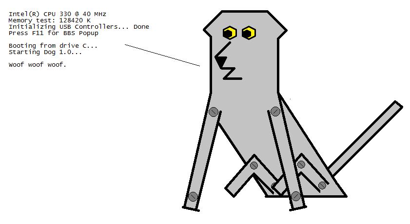 Robot Dog 1.0 by DanCarrero
