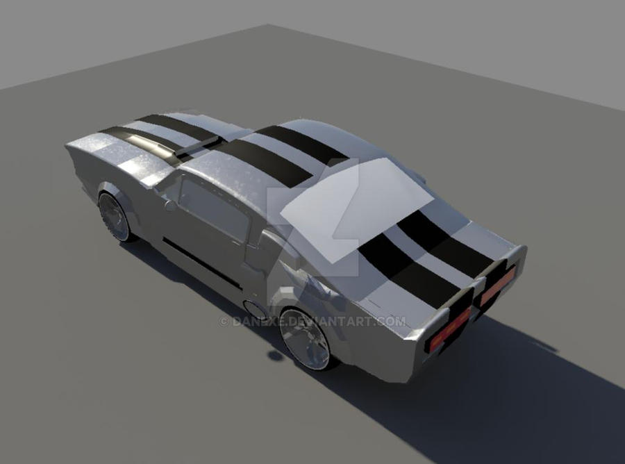 Ford'69 Mustang Shelby GT-500 Eleanor Ver 2 by DanExe on DeviantArt