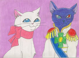 yuki y el principe lune by okamiblanco