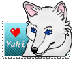 Yuki Stamp by okamiblanco