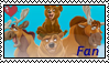 Brother bear stamp by okamiblanco
