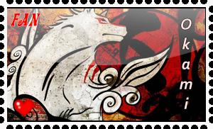 Okami Stamp by okamiblanco