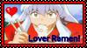 Inu Lover Ramen Stamp by okamiblanco