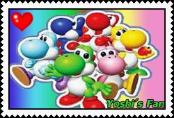 Yoshi's fan stamp 2 by okamiblanco